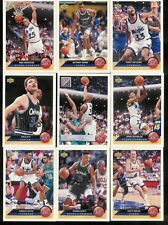 1992-93 UPPER DECK MCDONALD'S BASKETBALL ORLANDO MAGIC SET 1-10