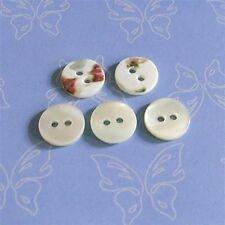 15 Real Trocas Yoko Ocean Pearl Shell Bebe Shirt Buttons 9mm 2H Natural D126