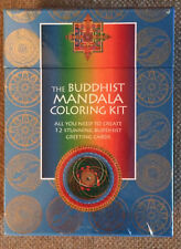 Buddhist Mandala Coloring Kit Lowest Price for New in Shrinkwrap Greeting Cards