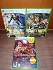 LOST ODYSSEY+INFINITY UNDISCOVERY+CIRCLE OF DOOM.XBOX 360.Lote.PAL UK. Rpg