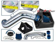 BCP BLUE 2011 2012 2013 2014 Ford F150 5.0L V8 Heat Shield Cold Air Intake