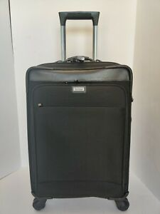 Sturdy Hartmann Quality Carry On 4 Wheel Spinner Luggage Bag Case Expandable