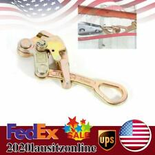 Cable Clamp Wire Pulling Grip Wire Grip Steel Wire Grip Hand Puller 2204lbs