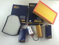 FILTRO OLIO FILTRO Polline Filtro dell'aria kraftsto. SCT GERMANY w210 COMPRESSORE 200 163ps