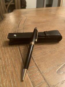 MONT BLANC Meisterstuck Classic twist type ballpoint pen 10883 Authentic Serial