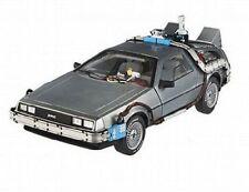 1:18 HOTWHEELS BTTF Back To The Future Time Machine DeLorean Mr Fusion CMC98