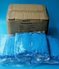 "1500 x MOB CAPS HAIR NETS DISPOSABLE LIGHT BLUE SIZE: 21"" PCBT11 ~ SEALED PACKS"