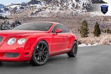 20x9 20x10 +33 Rohana RF1 5x112 Black Wheel Fit Bentley Continental GT STAGGERED