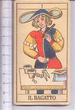 TAROCCHI GENOVESI - GENOA TAROT 70s italy sealed deck 4 cards - 4 carte sigillat