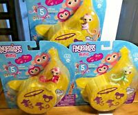 Lot of 3 Unopened Packs Fingerling Minis-Series 1-5 Blister 5 Pieces per Pack