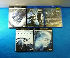 PELICULAS BLU-RAY 4K ULTRA HD PACK ALIEN COVENANT ALIEN PREDATOR 1 2 PROMETHEUS