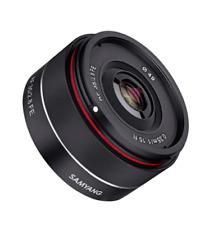 Samyang Syio35af-e 35mm F/2.8 Ultra Compact Wide Angle Lens for Sony E Mount Full Frame Black