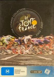 Le Tour De France - The Ultimate Collection - 2003-2007 (DVD, 2008, 11-Disc Set)