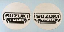 SUZUKI GSX250 GSX400 GS250T ENGINE CASING CRANKCASE DECAL KIT (2 x 89mm)