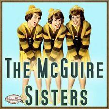 THE MCGUIRE SISTERS CD Vintage Vocal Jazz / Volare , Sugartime , Banana Split