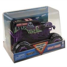 Monster Jam Grave Digger Truck True Metal 1 24