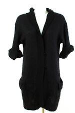 LUISA CERANO Strickjacke Gr. XL / 42 Mohair Cardigan Strick Kapuzenjacke Jacket