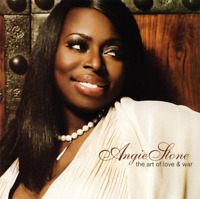 Angie Stone • The Art Of Love & War CD 2007 Stax Records •• NEW ••