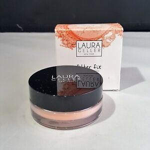 Laura Geller Filter Fix Baked Correcting Setting Powder Universal Apricot NWB
