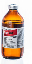 Tylan 200 500ml Antibiotic for Beef Cattle Dairy Cattle Swine Elanco