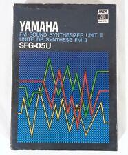 Yamaha Sfg-05 Sfg-05U Fm Sound Synthesizer Ii Cx5M Music Computer Tested Working