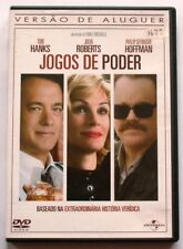 The CHARLIE WILSON'S WAR - JOGOS DE PODER - DVD MOVIE - Portuguese Subtitles