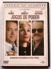 The CHARLIE WILSON'S WAR - JOGOS DE PODER - DVD MOVIE - Portuguese Subtitles