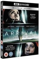 Arrival [4K UHD + Blu-ray] [DVD][Region 2]
