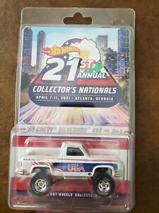 Hot Wheels '83 Chevy Silverado 4x4 2021 Atlanta Nationals