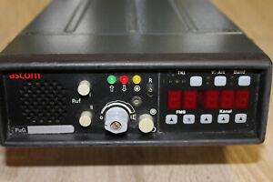 BOS- Fahrzeugfunkgerät FuG8b-1 Teletron / Ascom mit FMS- Bediengerät