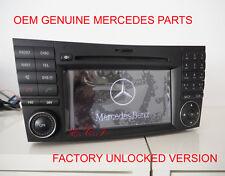 2009 GENUINE Mercedes W211 NTG2.5 E350 E550 E63 HD Navigation Comand DVD Changer