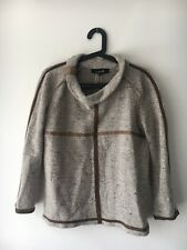 Isabel Marant Sweater Top With Leather And Suede Size 1