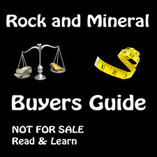 Rock and Mineral Buyers Guide - Not For Sale - Read & Learn - Natural Specimen