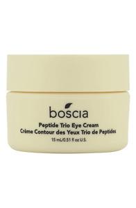 NEW BOSCIA Peptide Trio Eye Cream, FULL SIZE, 0.5 OZ / 15 ML, NIGHT CREAM