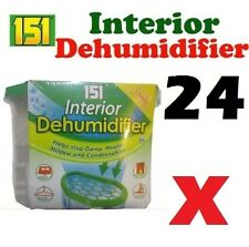 24 x Interior Dehumidifier Portable Stop Moisture Damp Mould Mildew Condensation
