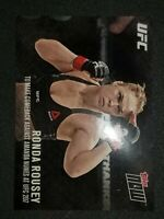 2016 Topps Now UFC Ronda Rousey #207-A Mint Condition