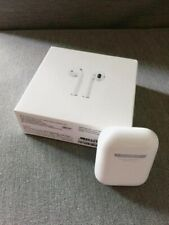 New listing Apple AirPods 2nd Generation 100% Sealed With White Wireless Charging Case A+