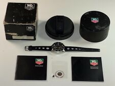 Tag Heuer 1000m Deep Dive 980.023n 41mm Divers Swiss Tool Watch Box Papers Vtg