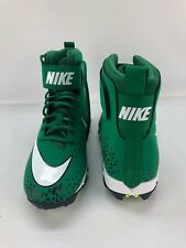 Nike Mens Force Savage Shark Football Cleats Green Size 10