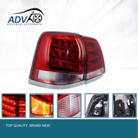 For Toyota Landcruiser 200 Series 2008-2011 LED Tail Light Red Clear Rear Lamp