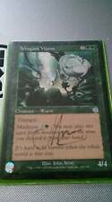 Arrogant Wurm Tourment Magic the Gathering MTG Signed by Artist John Avon