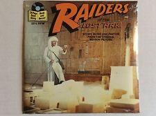 Disney Buena Vista Raiders Of The Lost Ark Read-Along Book&Record Sealed+bonusCd