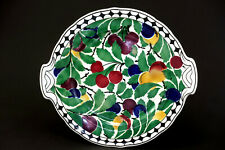 Villeroy & Boch Wallerfangen 2595 Keramik antik Jugendstil-Tablett Spritzdekor