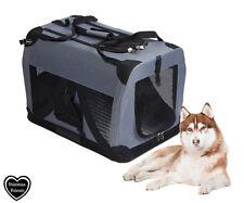 Équipements de transport gris pour chien
