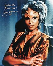 OFFICIAL WEBSITE Iona Morris STAR TREK Voyager 8x10 Glossy Photo AUTOGRAPHED