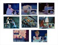 2019 DISNEY   CINDERELLA      8 SOUVENIR SHEETS animation cartoons
