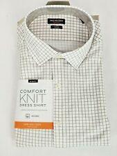 Van Heusen Traveler Mens Comfort Knit Slim Fit Wicking Button Dress Shirt New
