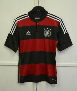 MINT! Germany 2014/2015/16 Away Football Shirt Soccer Jersey Adidas Men's Size S