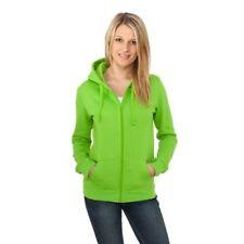 Felpe da donna in poliestere verde