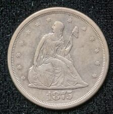 1875 S 20 Cent Coin